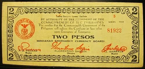 Click image for larger version.  Name:S524B Mindanao 2 pesos 1944.jpg Views:211 Size:188.9 KB ID:350534