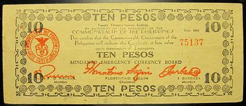 Click image for larger version.  Name:S527A Mindanao 10 pesos 1944.jpg Views:179 Size:173.5 KB ID:350571