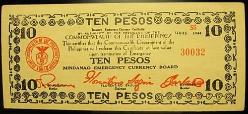 Click image for larger version.  Name:S527E Mindanao 10 pesos 1944.jpg Views:119 Size:182.3 KB ID:350573