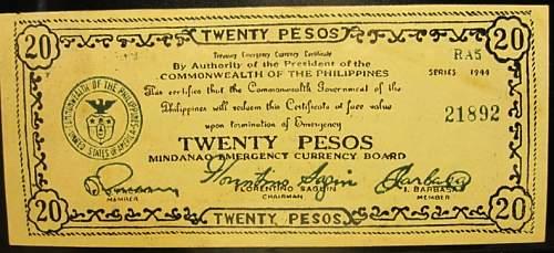 Click image for larger version.  Name:S528D Mindanao 20 pesos 1944.jpg Views:180 Size:193.1 KB ID:350576