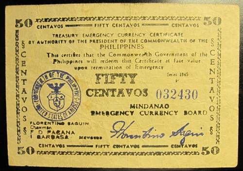 Click image for larger version.  Name:S534 Mindanao 50 centavos 1945.jpg Views:165 Size:223.4 KB ID:350577