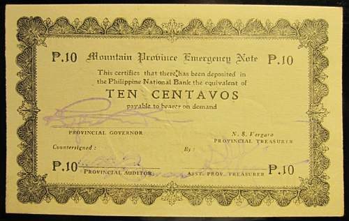 Click image for larger version.  Name:S592 Mountain Province 10 centavos 1942.jpg Views:168 Size:214.9 KB ID:350592