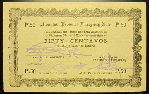Click image for larger version.  Name:S594A Mountain Province 50 centavos 1942.jpg Views:173 Size:224.0 KB ID:350594