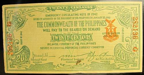Click image for larger version.  Name:S644 Negros 20 centavos 1942.jpg Views:100 Size:211.8 KB ID:350610