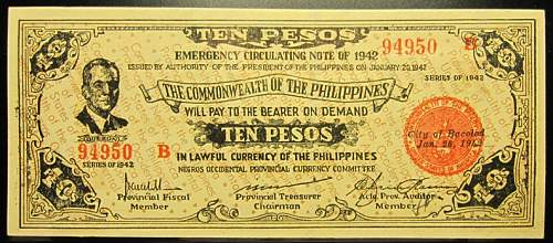 Click image for larger version.  Name:S649c Negros 10 pesos 1942.jpg Views:68 Size:230.1 KB ID:350617