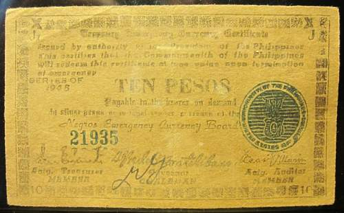 Click image for larger version.  Name:S683 Negros 10 pesos 1945.jpg Views:164 Size:215.7 KB ID:350632