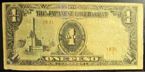 Click image for larger version.  Name:109B Japan 1 peso 1943.jpg Views:533 Size:221.7 KB ID:350656