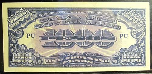 Click image for larger version.  Name:115 Japan 1000 pesos 1945.jpg Views:144 Size:204.9 KB ID:350662