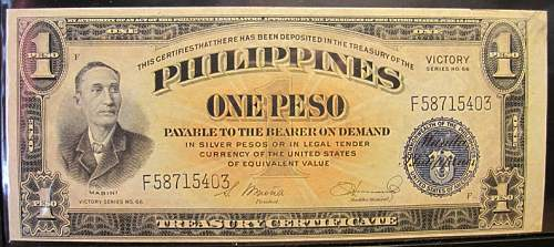 Click image for larger version.  Name:94 Philippines 1 peso 1944 Victory.jpg Views:143 Size:206.9 KB ID:350786