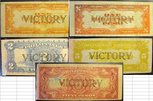 Click image for larger version.  Name:100 Philippines Victory notes back.JPG Views:130 Size:78.3 KB ID:350794