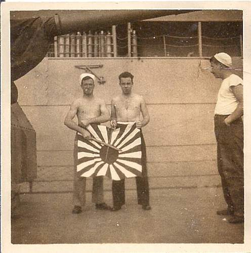 Japanese Flags Brought Back by my Grandfather
