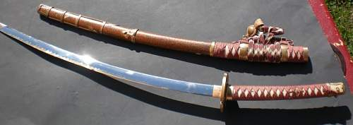 Need help with a Japanese Sword !!