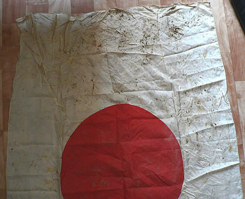 The Japanese flag of the WW2. It is possible to Define, original it or not?