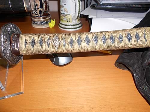 Japanese sword help