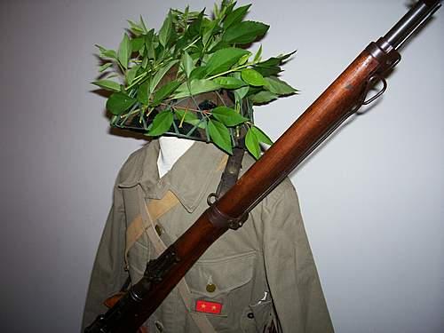 Japanese tropical uniform display