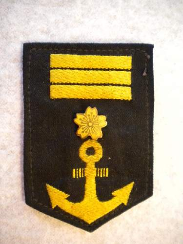 Japanese Naval Patch (what is it?)