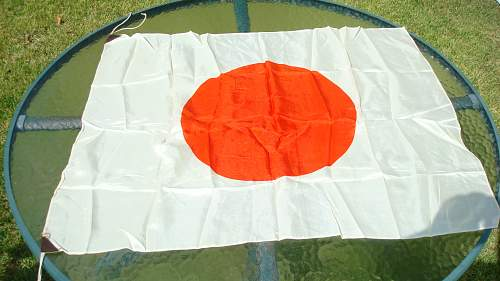 Japanese Flag For Review
