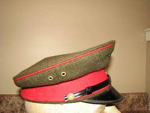 Japanese visor and field cap-good or bad?