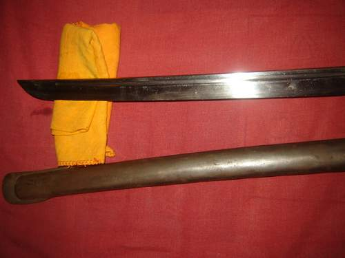 Japanese nco sword from ww2