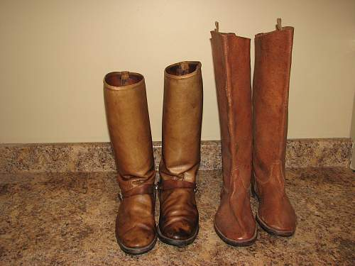 Cavalry boots
