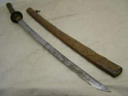IJA officer sword