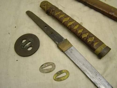 IJA officer sword