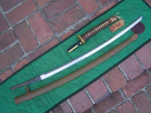 Another Type 98 sword!