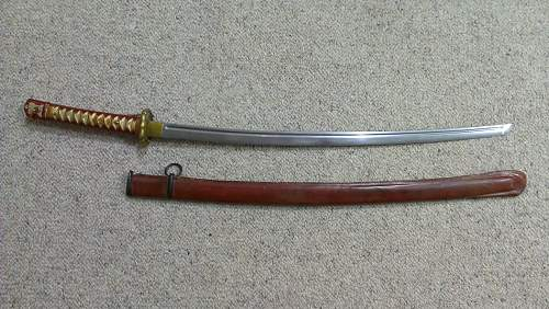 Real or reproduction NCO sword?