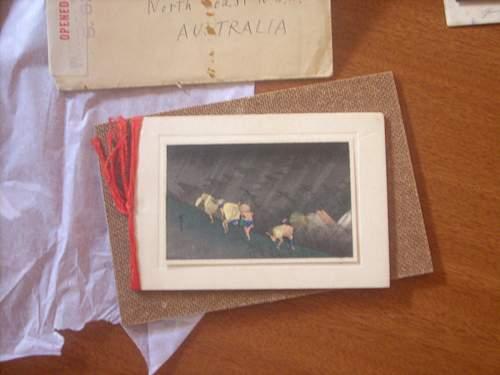 Japanese Christmas card and photo