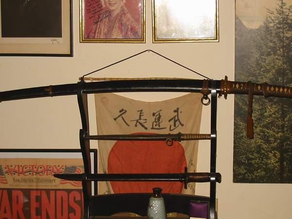 WWII Japanese Army Samurai Sword 1944