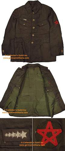 Japanese Defence force Tunic.