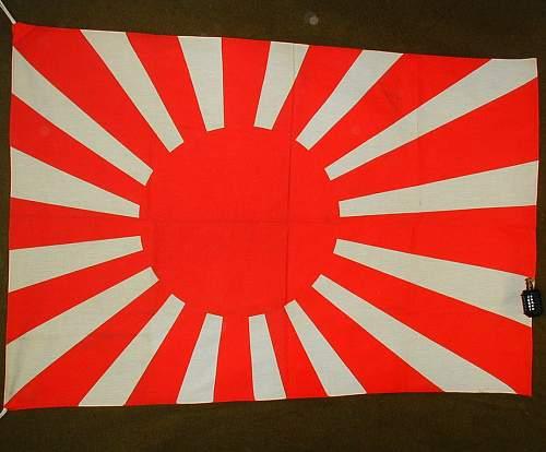 Re:Japanese Naval Rising Sun flag