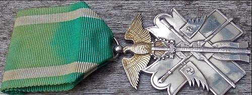 Japanese Order of the GOLDEN KITE 7th Class