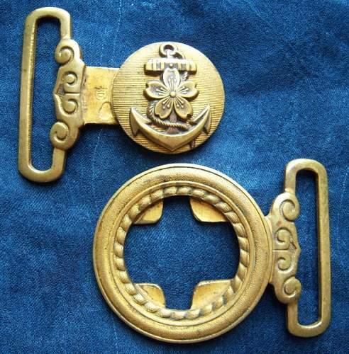 Japanese Naval Belt buckle