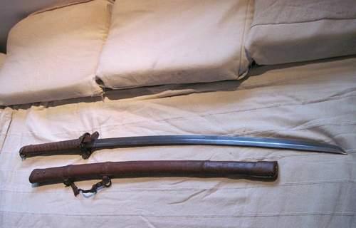 Is this a fake Japanese gunto type 94?