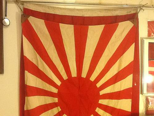 Silk Battle Flag