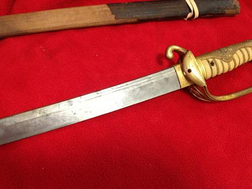 A free Japanese sword...
