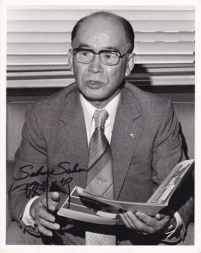 Looking for saburo sakai autograph and zero relics