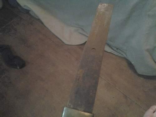 ww2 sword?