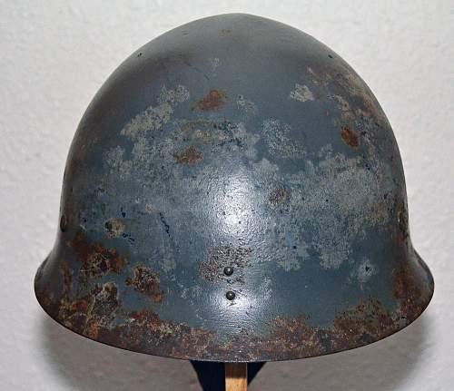 Japanese shipboard helmet