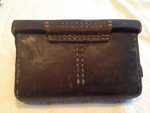 Japanese Ammo Pouch WWII