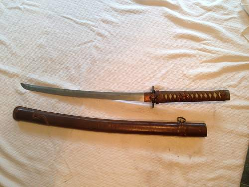 Japanese Sword WWII