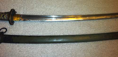 Need some newbie help with japanese edged weapons