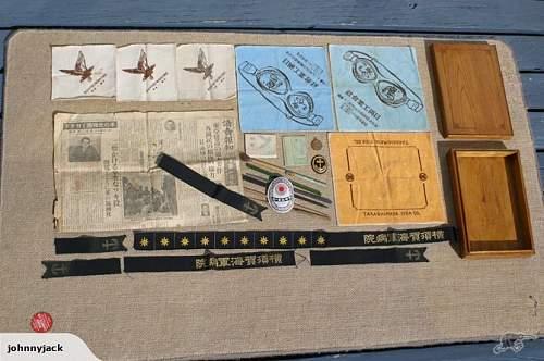 Japanese box of Goodies