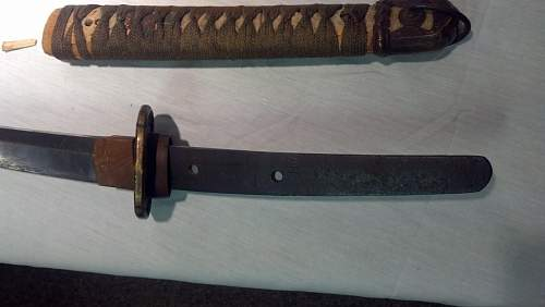 Translation and info on WW2 japanese sword