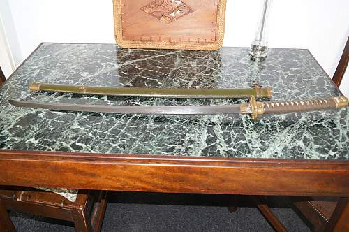 Info needed about maker, year and value of this Katana
