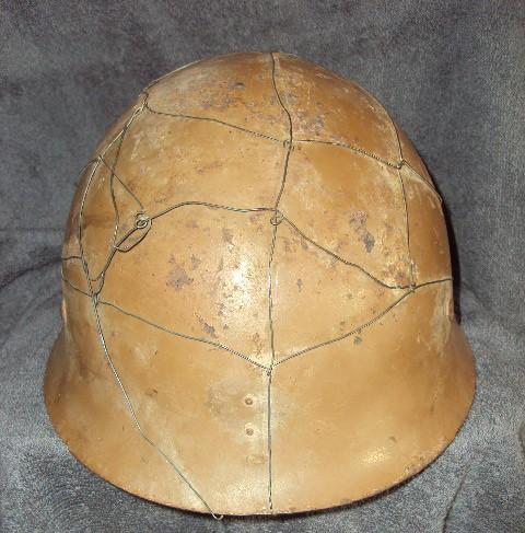 Japanese helmet chicken wire helmet ???