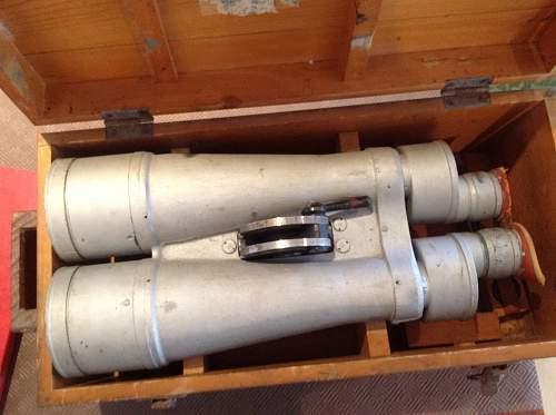 Japanese Warship Binoculars Translation