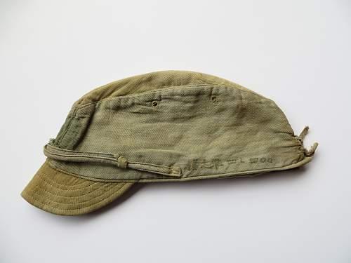 Japanese WWII Navy Cap, Translation Help Needed