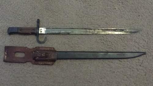 Arisaka Bayonet
